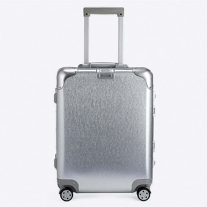Alternate image 1 for Autonomous Aluminum 20-Inch Hardside Spinner Carry On Luggage in Silver