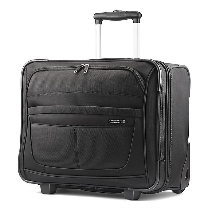 Alternate image 1 for American Tourister® DeLite 3 Softside Underseat Luggage