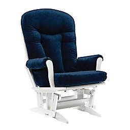 Dutailier® Custom Stella Grande Glider in Blue Fabrics