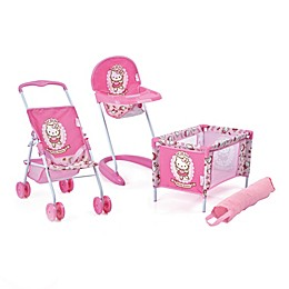 Hauck Hello Kitty 3-Piece Baby Doll Playset