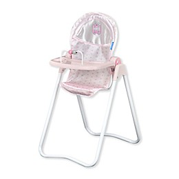 Hauck Princess Pink Snacky Baby Doll High Chair