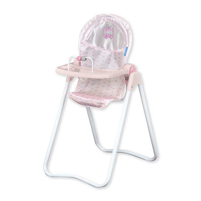Hauck Princess Pink Snacky Baby Doll High Chair Bed Bath Beyond
