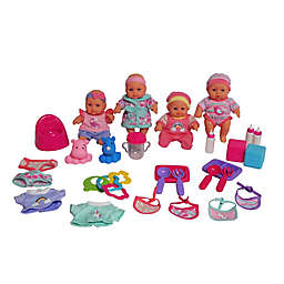 Dream Collection 7-Inch All-Occasions Baby Doll 29-Piece Playset