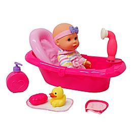 Gi-Go Bath Time 9-Piece Doll Play Set