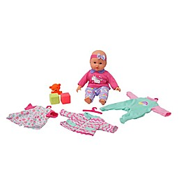 Gi-Go Toy 6-Piece My LiL Wardrobe Baby Doll Set