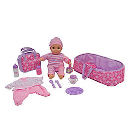 Gi-Go 10-Piece Deluxe Lovely Doll Play Set