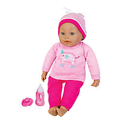 Lissi 16-Inch Interactive Baby Doll 3-Piece Playset