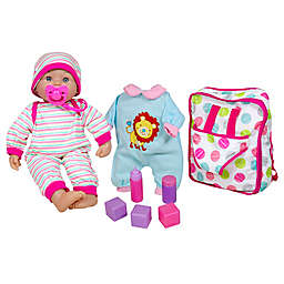 Lissi 14-Inch Baby Doll Set with Backpack and Accessories