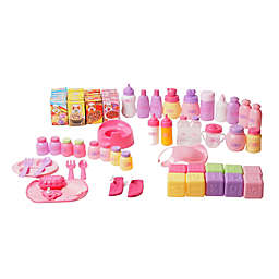 Gi-Go 70-Piece Baby Doll Care Toy Accessories Set with Bag