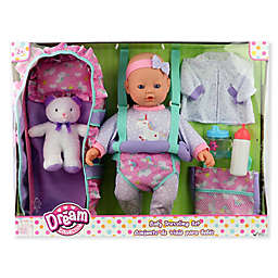 Gi-Go 16-Inch Baby Doll Travelling Set in Blue