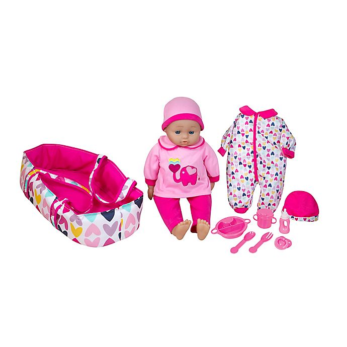 Alternate image 1 for Lissi 16-Inch Talking Baby Doll with Accessories