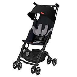 GB Pockit+ All Terrain Compact Stroller in Velvet Black