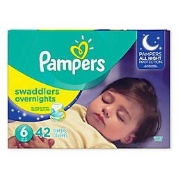 Pampers® Swaddlers™ Overnights 42-Count Size 6 Diapers