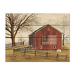 Courtside Market® Flag Barn Wood Pallet Wall Art