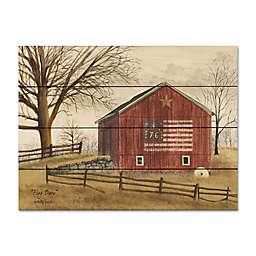 Courtside Market® Flag Barn Wood Pallet Wall Art