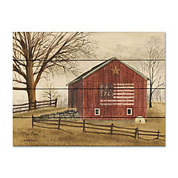 Courtside Market® Flag Barn 16-Inch x 20-Inch Wood Pallet Wall Art