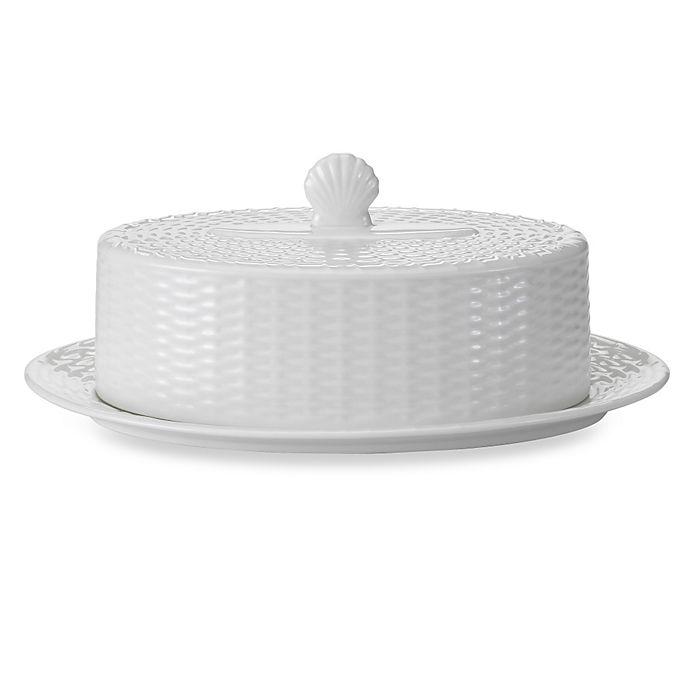 Alternate image 1 for Wedgwood® Nantucket Basket Covered Butter Dish