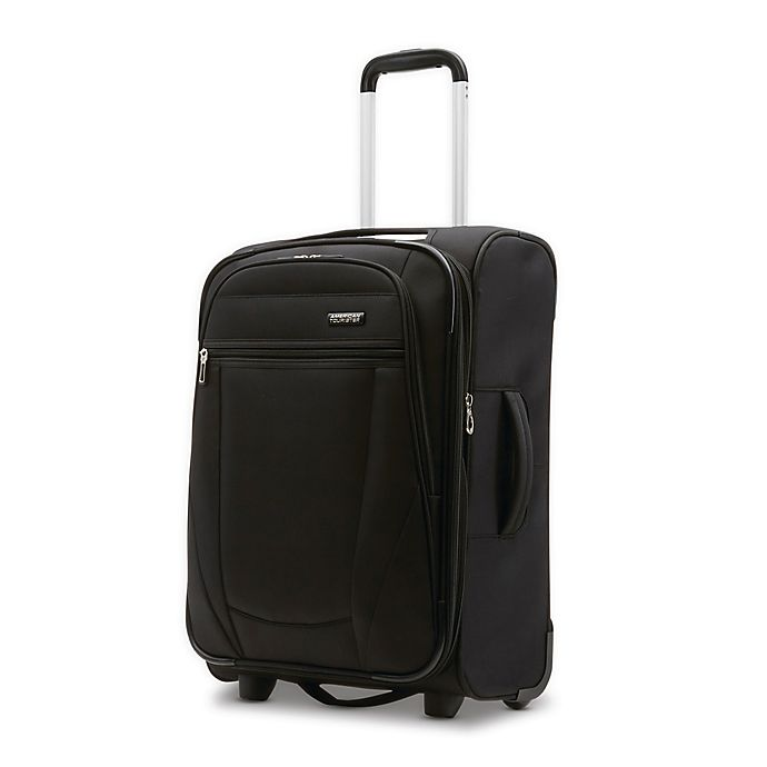 Alternate image 1 for American Tourister® Blast XLT 28-Inch Softside Upright Checked Luggage in Black