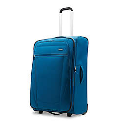 American Tourister® Blast XLT 24-Inch Softside Upright Checked Luggage in Aqua Blue