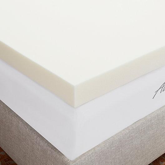 Alternate image 1 for Sleep Studio 4-Inch Breathable Memory Foam Twin Mattress Topper
