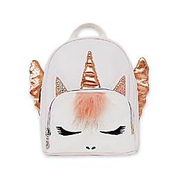 OMG Acessories Unicorn Mini Backpack in White