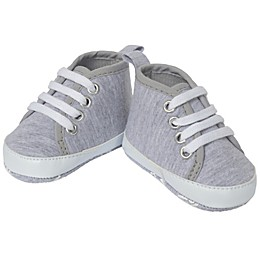 Little Me® High-Top Sneaker in Heather Grey