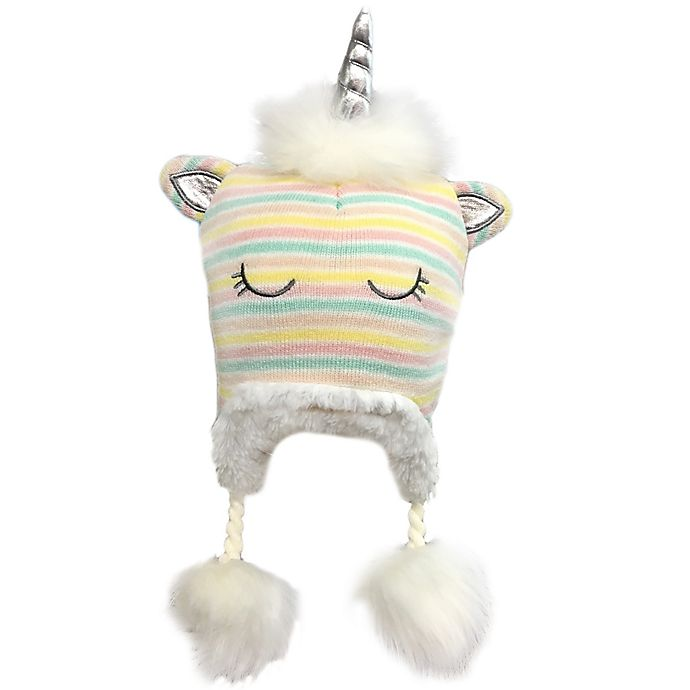 Alternate image 1 for Toby Fairy™ Unicorn Cuddler Hat in Pink