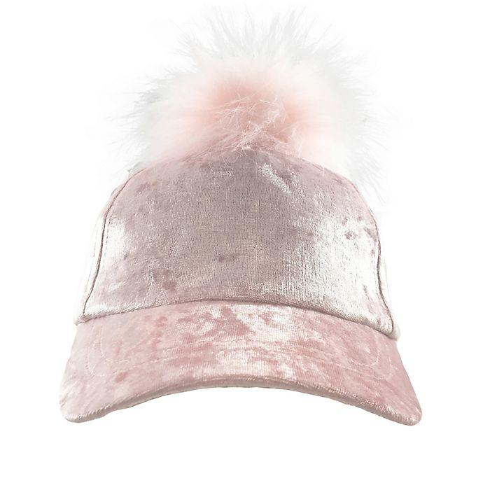 Alternate image 1 for Toby Fairy™ Velvet Baseball Cap in Pink