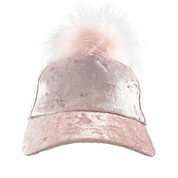 Toby Fairy™ Velvet Baseball Cap in Pink