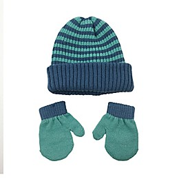 NYGB™ 2-Piece Hat and Mitten Set in Blue