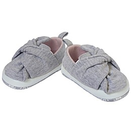 Little Me® Knit Slip-On Casual Shoe in Grey