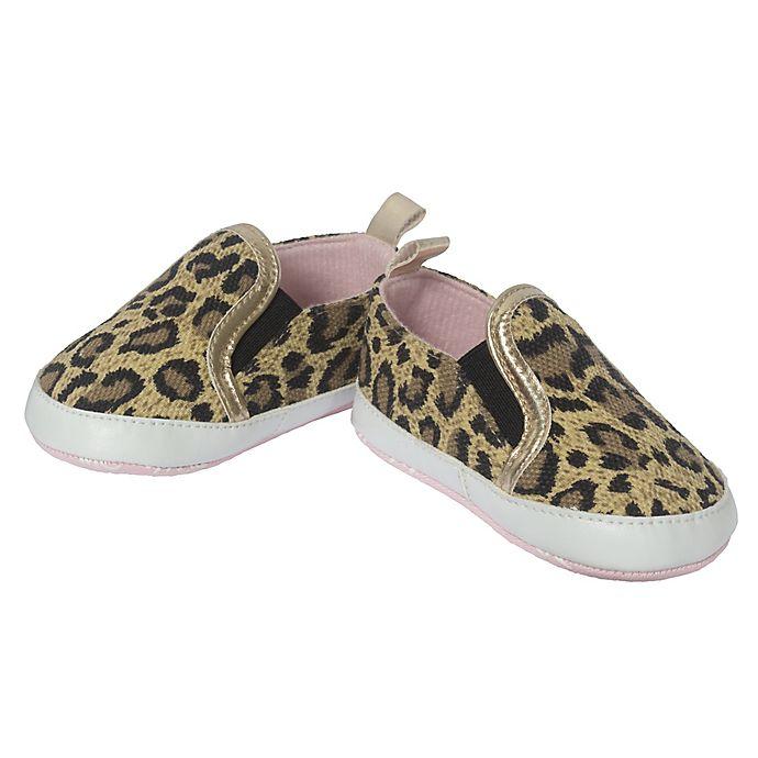 Alternate image 1 for Little Me® Leopard Slip-On Sneaker