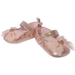 Little Me® Metallic Mary Jane Shoe in Gold