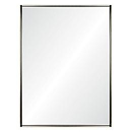 Ren-Wil Yaelle 40-Inch x 30-Inch Rectangle Mirror in Gold