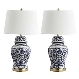 Safavieh Arwen LED Table Lamps with Cotton Shade (Set of 2)