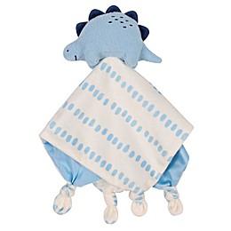 Gerber® Dinosaur Plush Velboa Security Blanket in Ivory/Blue