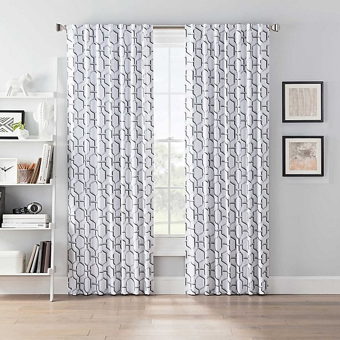 Alternate image 1 for SmartBlock™ Chroma Back Tab 100% Blackout Window Curtain Panel