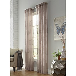 Commonwealth Home Fashions Tropical Breeze Grommet Window Curtain Panel