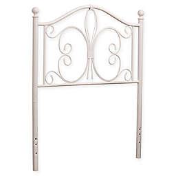 Hillsdale Furniture Ruby Twin Headboard in Textured White
