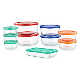 Pyrex® Simply Store® 20-Piece Glass Food Storage Set