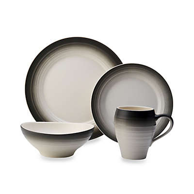 Mikasa® Swirl Ombre Dinnerware Collection in Graphite
