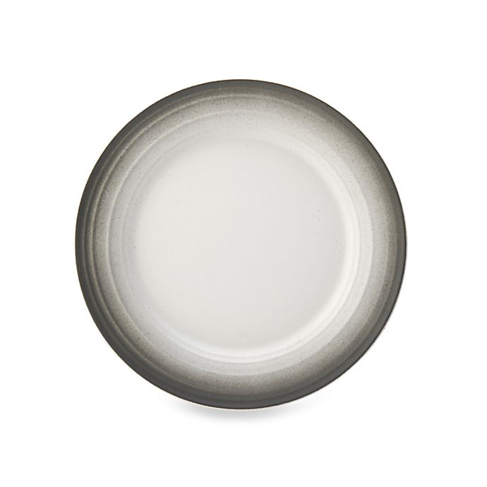Alternate image 1 for Mikasa® Swirl Ombre Salad Plate in Graphite