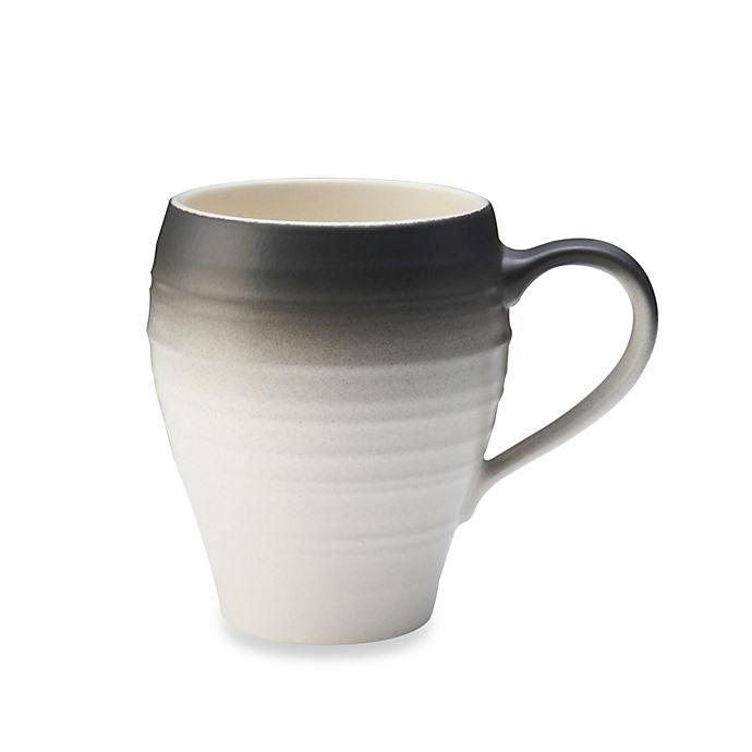 Alternate image 1 for Mikasa® Swirl Ombre Mug in Graphite
