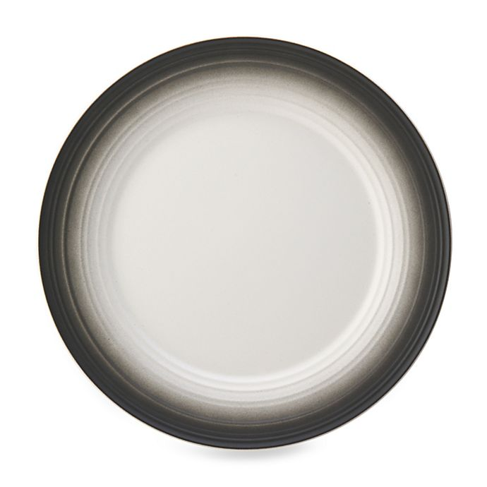 Alternate image 1 for Mikasa® Swirl Ombre Dinner Plate in Graphite