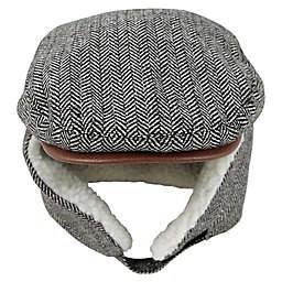 Addie & Tate Convertible Cabbie Hat in Grey