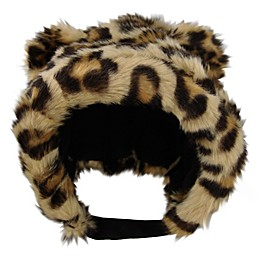 Addie & Tate Cheetah Bonnet in Brown/Black
