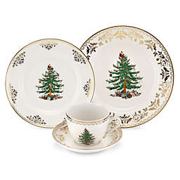 Spode® Christmas Tree Gold 4-Piece Place Setting