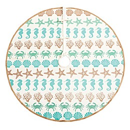 C & F Home 54-Inch By The Sea Tree Skirt