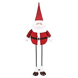 C & F Home Santa Bobble Figurine in Red