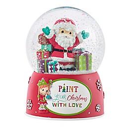 Precious Moments® Santa and Elf Musical Snow Globe